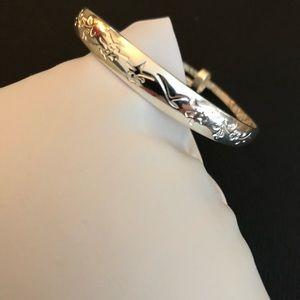 Other - Girls silver Bangle cuff Bracelet